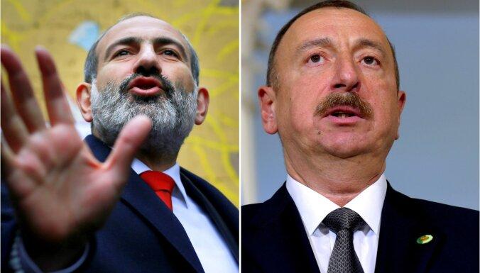 Armēnija un Azerbaidžāna augstākajā līmenī apmainās apvainojumiem nacismā