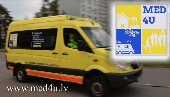 Profesionāla medicīniskā palīdzība ārpus medicīnas iestādes – 'Med4U'