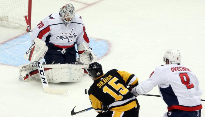 """НХЛ: """"Питтсбург"""" обыграл """"Вашингтон"""", Малкин набрал три очка, у Овечкина — гол"""
