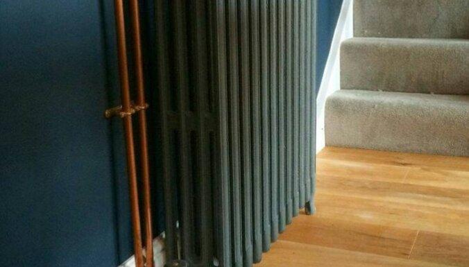 Autentiskie čuguna radiatori un to atjaunošana