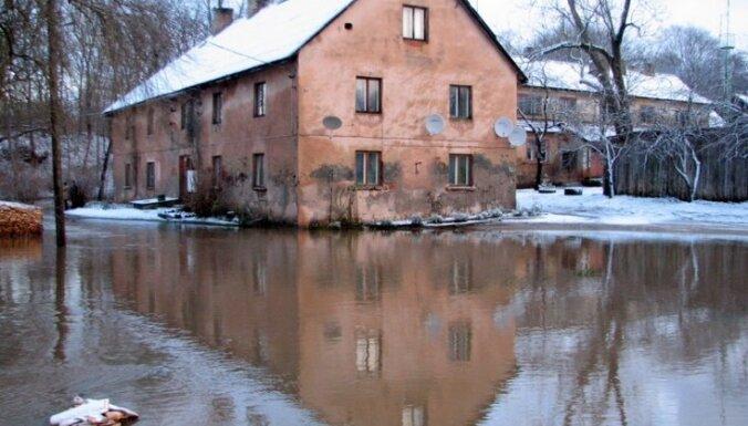 Dundagas pašvaldība lūgs valsti kompensēt janvāra plūdu zaudējumus