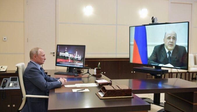 Krievijas premjeram konstatēts koronavīruss