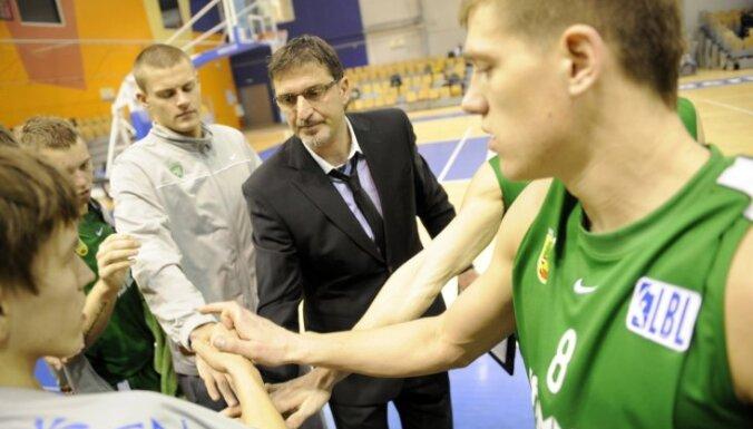 'Valmieras' basketbolistiem uzvara pirmajā BBL Izaicinājuma kausa ceturtdaļfināla spēlē