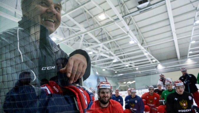 Russian team Oleg Znarok, Alexander Radulov