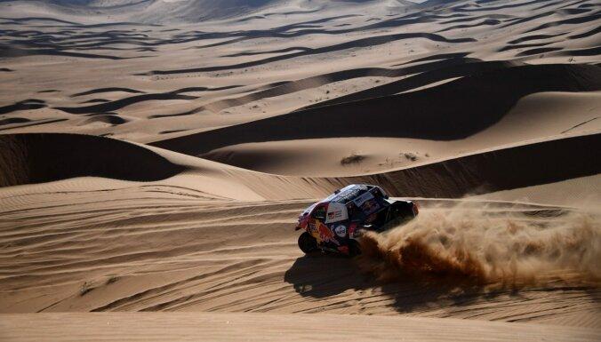 Al-Atija uzvar Dakaras rallijreida otrajā posmā