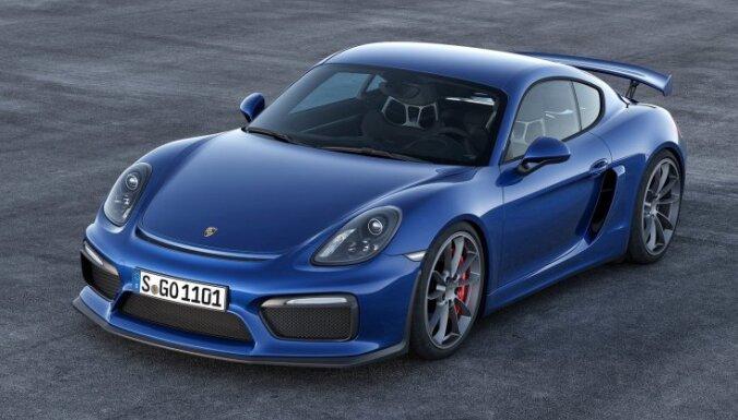 'Porsche Boxster' un 'Cayman' tirgū tiks piedāvāti kā 718. sērijas modeļi