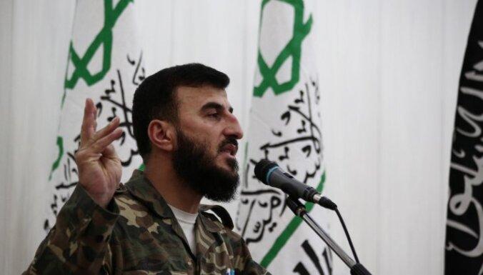 """В Сирии убит лидер повстанческой группировки """"Джейш аль-Ислам"""""""