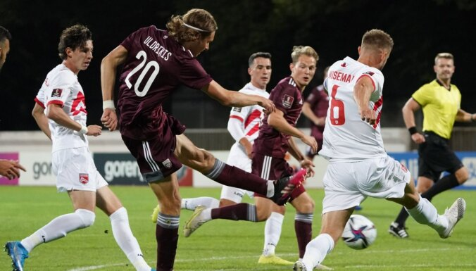 Сборная Латвии обыграла Гибралтар, Роналду геройствует, ничьи России и Украины