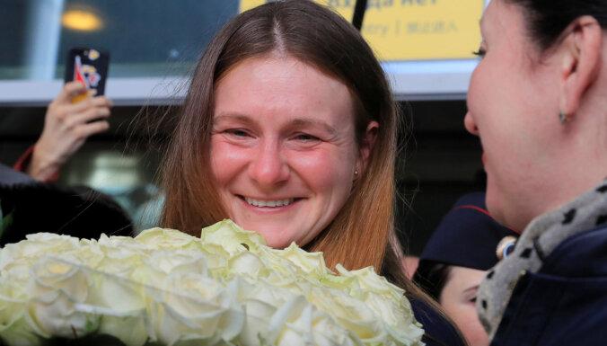 Отбывшая срок в американской тюрьме Мария Бутина вернулась в Россию