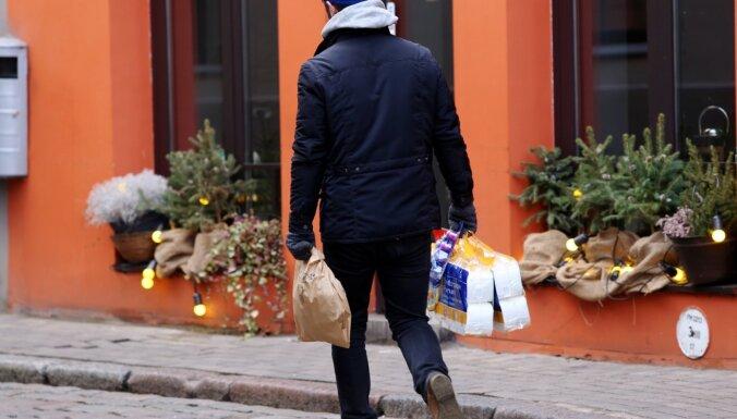 'Covid-19': Rīgā pašizolācijā esošos iedzīvotājus aicina pieteikties, ja nepieciešama pārtika