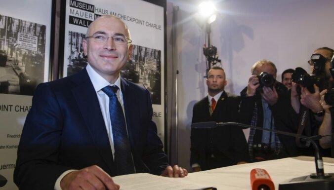 Михаил Ходорковский возвращается в Берлин