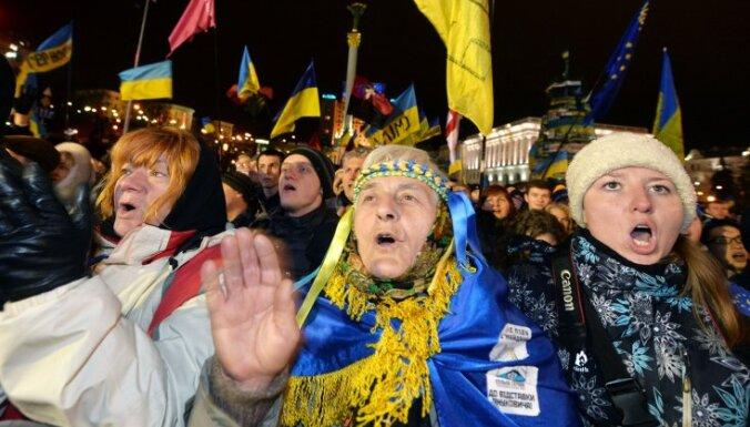 Украинская оппозиция составила план действий Майдана