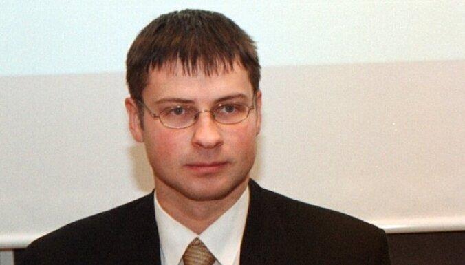 Домбровскис посетит Литву с рабочим визитом 2 декабря