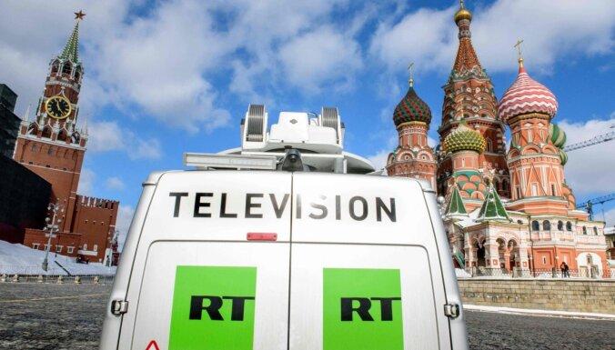 Propaganda nav vārda brīvība jeb Kremļa rupora RT aizliegšana Latvijā
