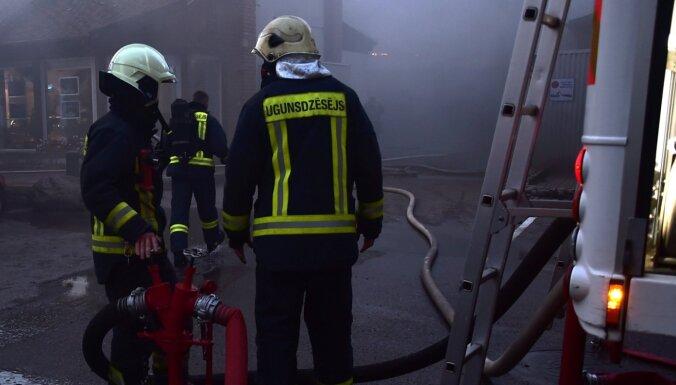 Пожар в производственном цехе LIDO ликвидирован: выгорело 600 кв. метров