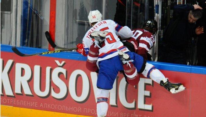 Сборная Латвии завершила ЧМ-2016 поражением от Норвегии