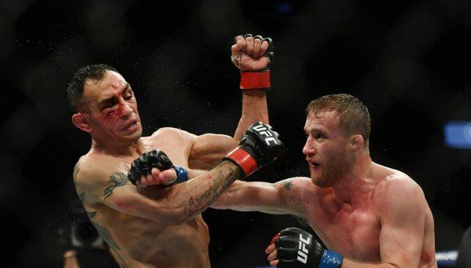 Сенсация без Хабиба: Гэтжи уничтожил Фергюсона на турнире UFC в Джексонвилле