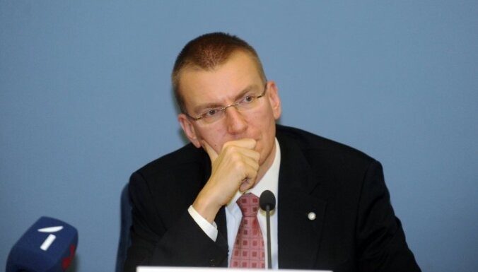 Глава МИД связывает критику внешней политики Латвии с приближением выборов