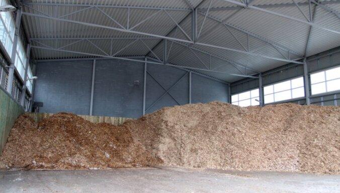 Эстонская компания построит в Валмиере работающую на древесной щепе котельную