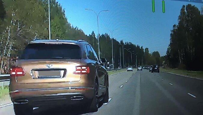 Полиция поймала водителя Bentley, который превысил скорость на 52 км в час