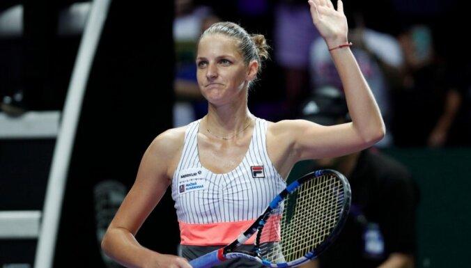 Plīškova ar uzvaru pār V. Viljamsu sāk WTA sezonas noslēguma turnīru