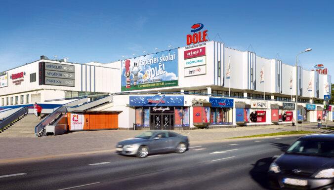 Trīs gadu laikā plāno pārveidot tirdzniecības centru 'Dole'