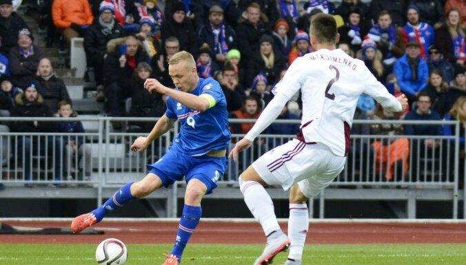 Iceland Kolbeinn Sigthorsson vs Vitalijs Maksimenko