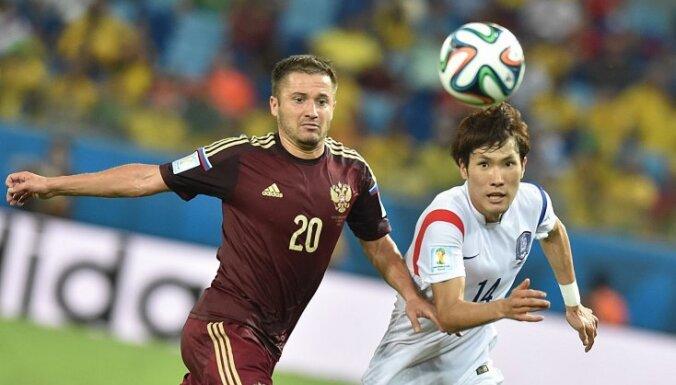 Сборная России едва не проиграла Корее из-за ляпа Акинфеева