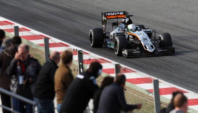 """'Force India' un """"Manor' F-1 komandas lūdz sezonas prēmiju izmaksāt avansā"""