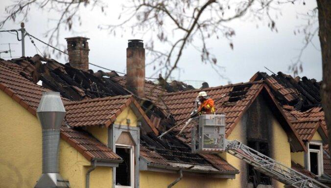 При пожаре в Германии погибли 7 детей