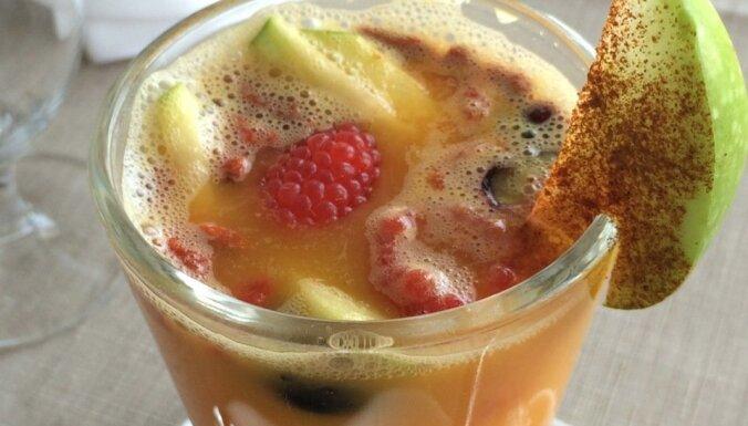 Smiltsērkšķu un medus dzēriens ar ingveru