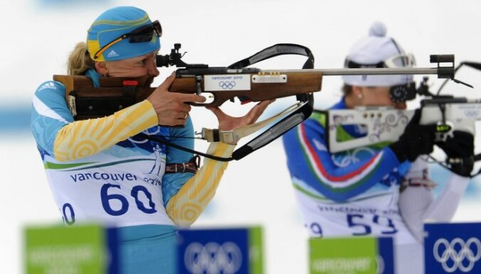 Украинскую биатлонистку дисквалифицирована за допинг