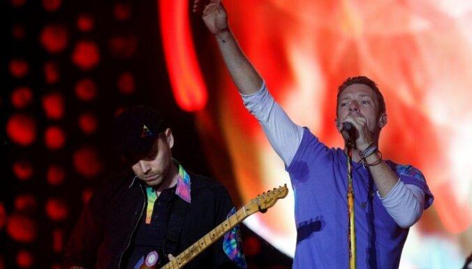'Coldplay' izziņo 2017. gada Eiropas turnejas pirmos datumus