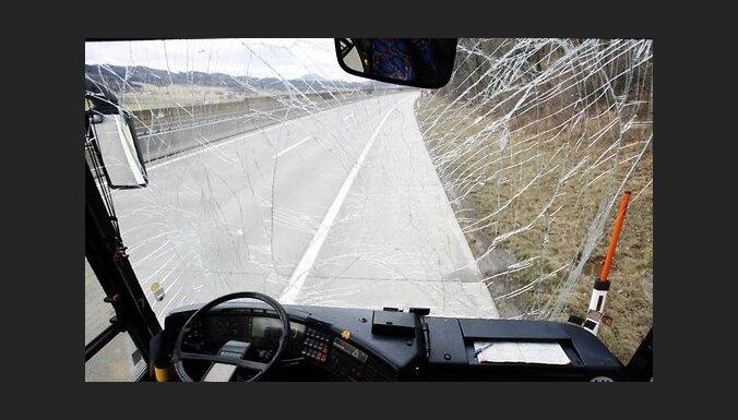 В Польше перевернулся автобус из Латвии — пятеро пострадавших