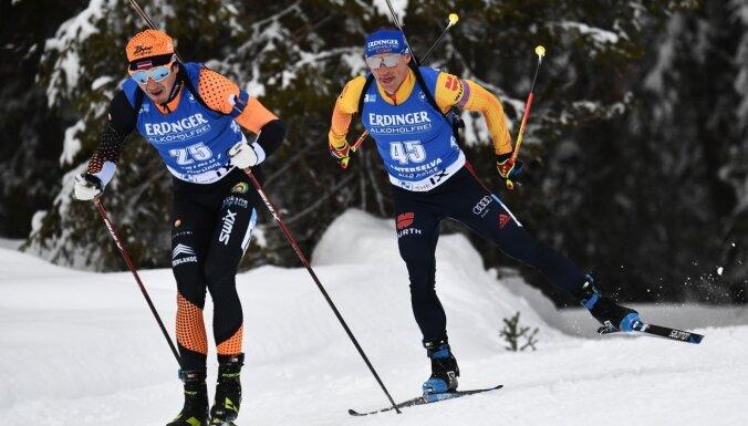 Спринт на ЧМ по биатлону: шведское золото, упущенный шанс россиянина и необязательный промах Расторгуева