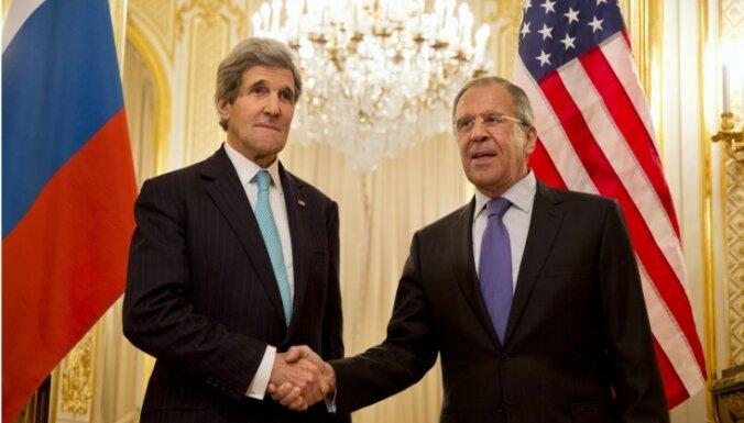 Лавров и Керри откровенно поговорили в Женеве