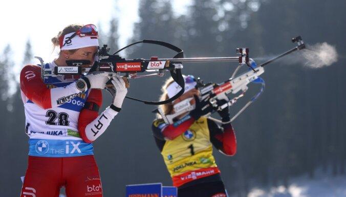Baiba Bendika: 'Ceru, ka Latvijas biatlons nākotnē kādu laiku bez manis iztiks'