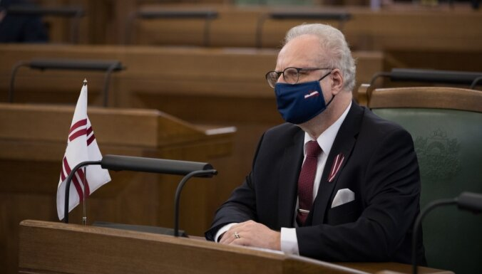 Левитс: призывы не носить маску — часть гибридной войны