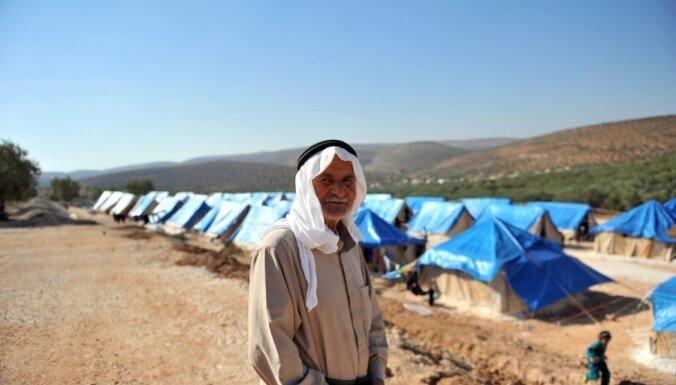 Sīrijas bēgļu uzturēšana Turcijai jau izmaksājusi 220 miljonus dolāru