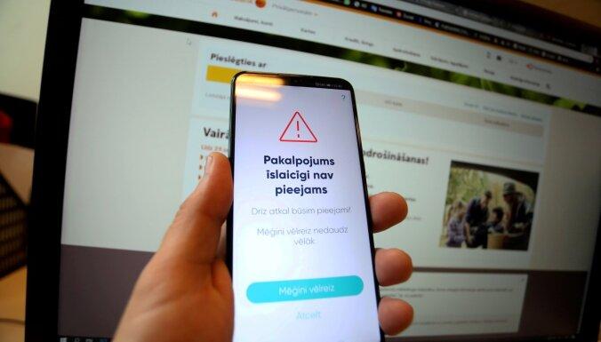 Novērsti traucējumi lietotnes 'Smart ID' darbībā