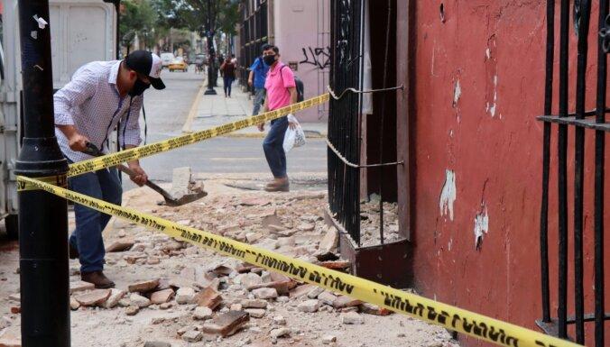 Zemestrīcē Meksikā seši bojāgājušie