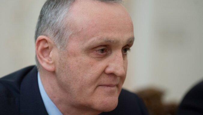 No amata atkāpies Abhāzijas prezidents Ankvabs