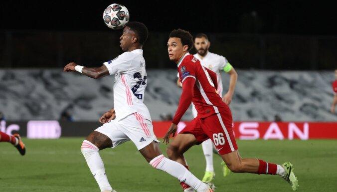 UEFA Čempionu līgas ceturtdaļfināla pirmajās spēlēs uzvar 'Real' un 'City'