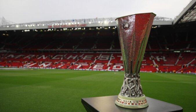 Главный трофей Лиги Европы УЕФА похитили в Мексике