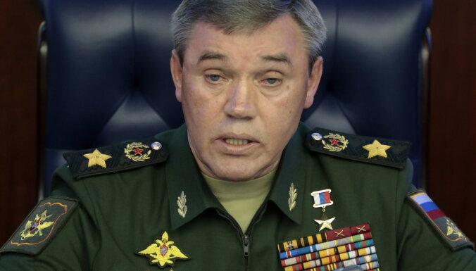 Начальник Генштаба РФ: НАТО готовится к крупномасштабному военному конфликту