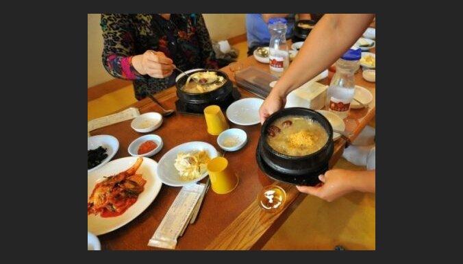 Ženšeņš - korejiešu virtuves sastāvdaļa