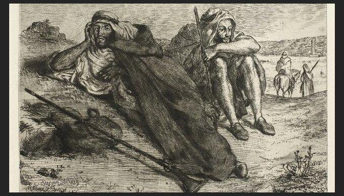 В Париже похищена картина Делакруа стоимостью 650 тысяч евро