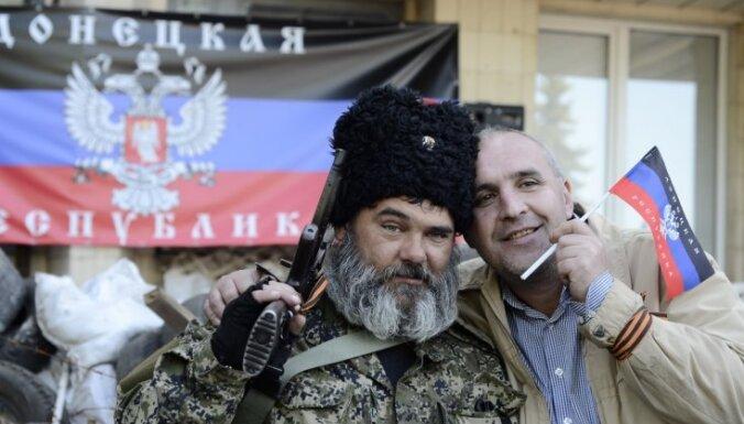 Doņeckas separātisti lūdz Krievijai miljardu dolāru