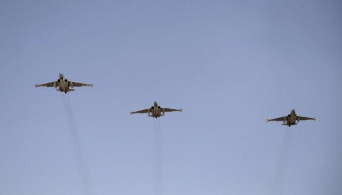 Вблизи Латвии пролетели семь российских военных самолетов