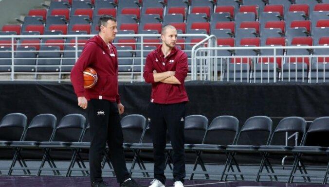 Latvijas izlases treneris Visockis-Rubenis: mums vajadzīga enerģija jau no spēles sākuma